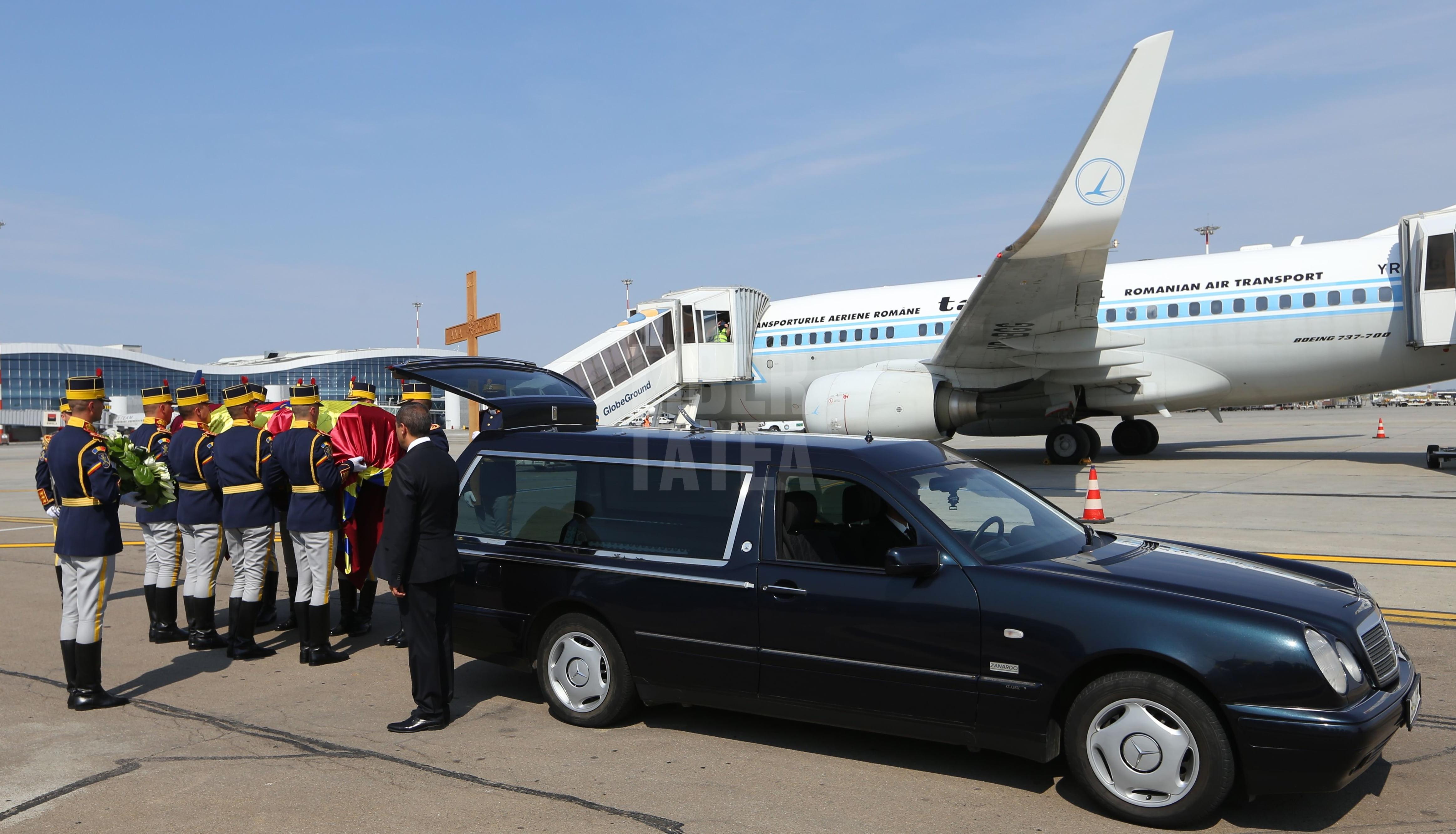 sicriu regina ana aeroport