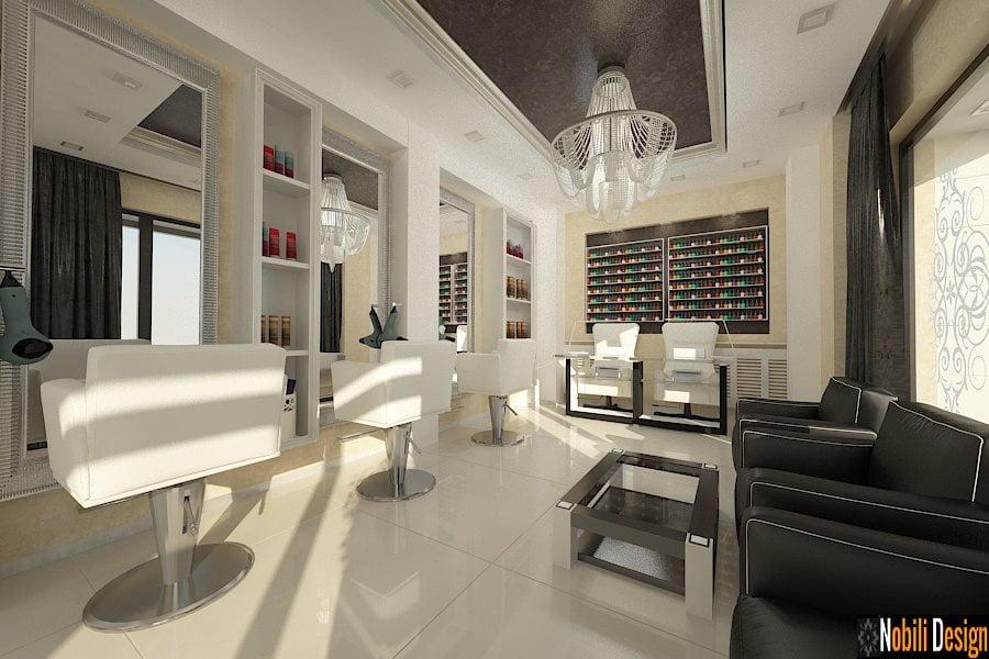Amenajare salon de infrumusetare stil clasic for Mobilier salon design