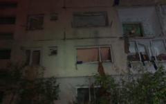 Un bloc locuinţe din Bistriţa-Năsăud, distrus de o explozie puternică