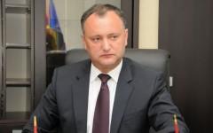 Igor Dodon, suspendat a doua oară din funcţia de Preşedinte al Republicii Moldova