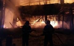 Clubul Bamboo din Capitală, distrus în totalitate de un incendiu devastator