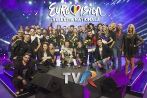 15 semifinalisti Eurovision Romania, TVR, 12 februarie