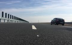 Ministrul Transporturilor, Răzvan Cuc, în inspecție pe șantierul autostrăzii Lugoj-Deva
