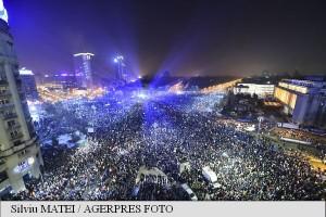 protest piata victoriei - guvern