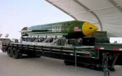 Americanii au bombardat Afganistanul cu o super bombă