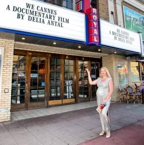 Delia Antal, premiera WE CANNES - Hollywood