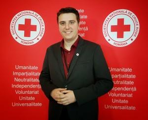 Iulian Bobîrnea - reprezentant tineret în Comitetul de Directie al Crucii Rosii Romane