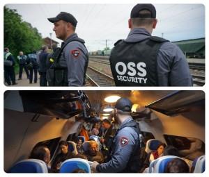 agenti de paza in trenuri