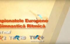 TVR transmite în exclusivitate Campionatele Europene de gimnastică ritmică de la Budapesta