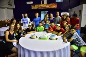 jucatori tenis party