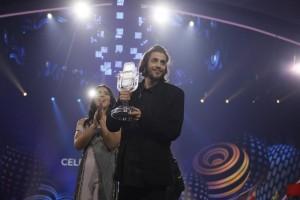 salvador sobral - trofeu eurovision