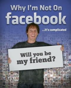 De ce nu sunt pe FB copy