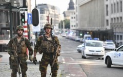 Explozie puternică în Gara Centrală din Bruxelles. Autorul atentatului, lichidat de armată