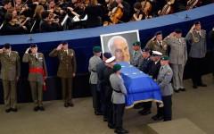 Helmuth Kohl, unificatorul Germaniei, condus pe ultimul drum. Ceremonie funerară la Strasbourg