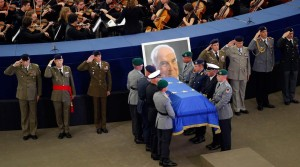 Helmuth Kohl - funeralii strasbourg