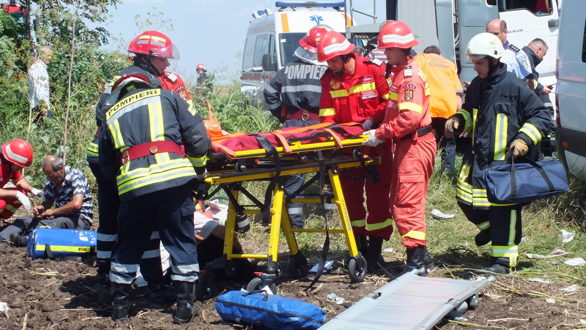 accident rutier teleorman