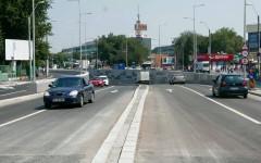 Pasajul rutier Piaţa Sudului din Bucureşti, inaugurat parţial, cu doi ani de întârziere a lucrărilor