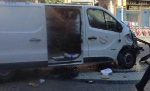 atentat terorist - barcelona - spania