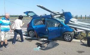 masina accident autostrada soarelui