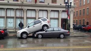 parcare gresita