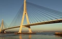A fost desemnat câştigătorul pentru construcţia podului suspendat de la Brăila!