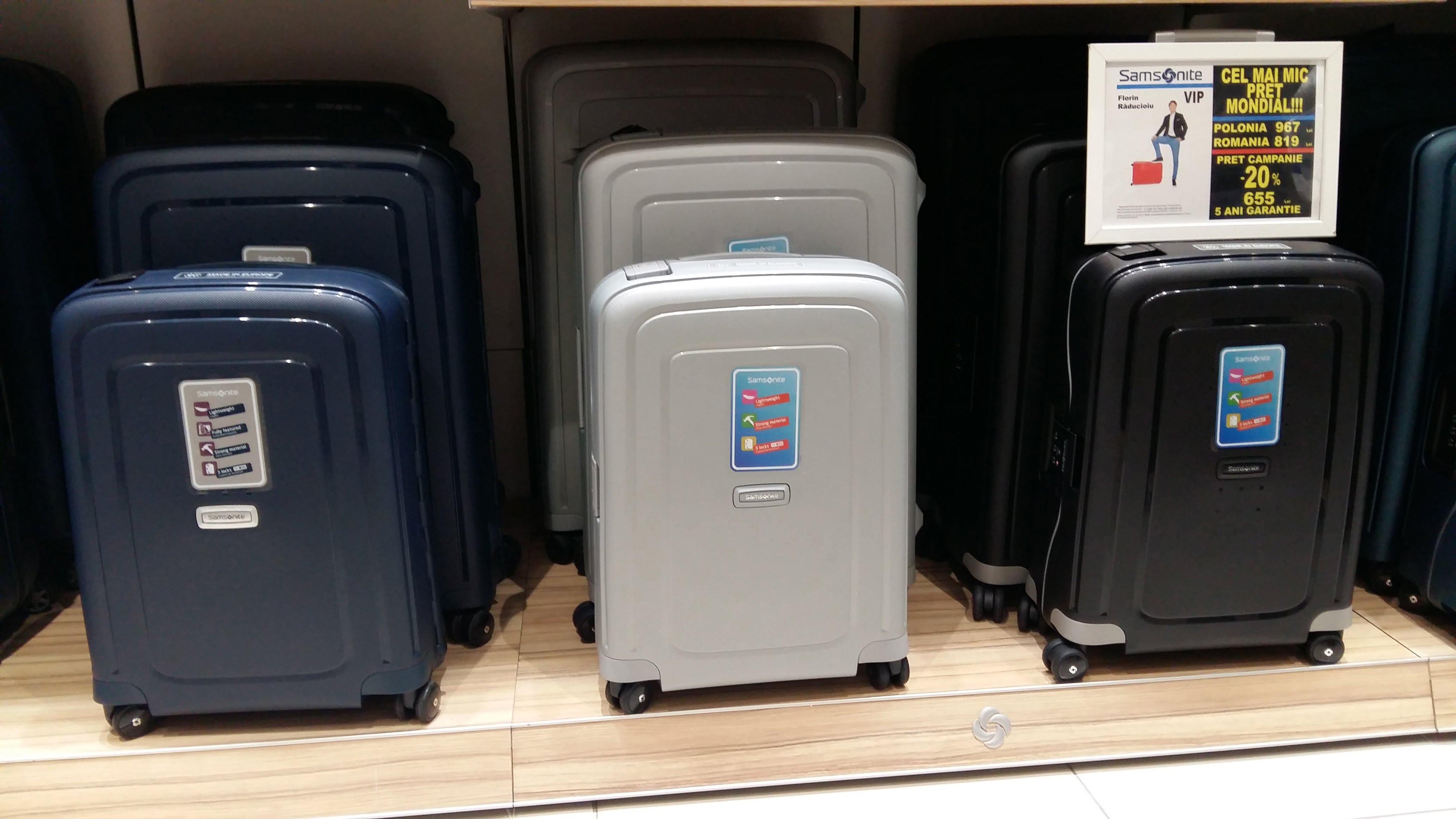 samsonite valize