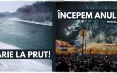 Românii şi moldovenii sunt invitaţi la Revelion Unionist: Români, Petreceți Prutul!